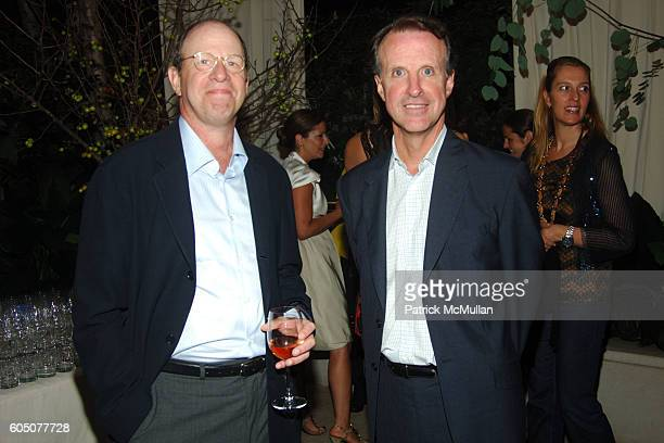 Rick Levine and Tom Wallace attend Domino Magazine and Allison Sarofim Party to Celebrate Fashion Week at Allison Sarofim's Residence on September 6...