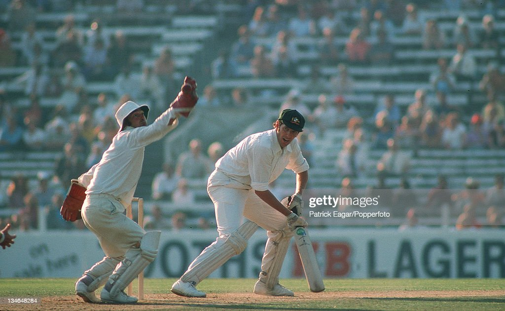 Rick McCosker edges past Knott England v Australia 4th Test The Oval Aug 1975