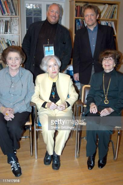 Rick McKay John Anderson Patricia Neal Fay Wray and Betty Comden