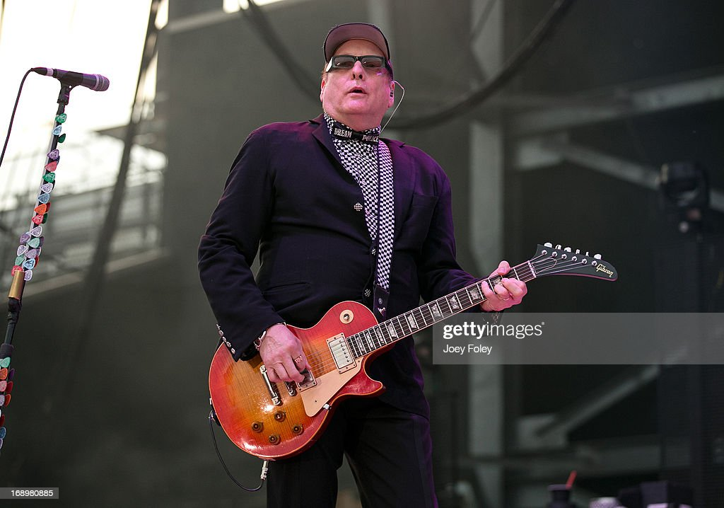Rick Nielsen of Cheap Trick performs during 2013 Rock On The Range at Columbus Crew Stadium on May 17, 2013 in Columbus, Ohio.