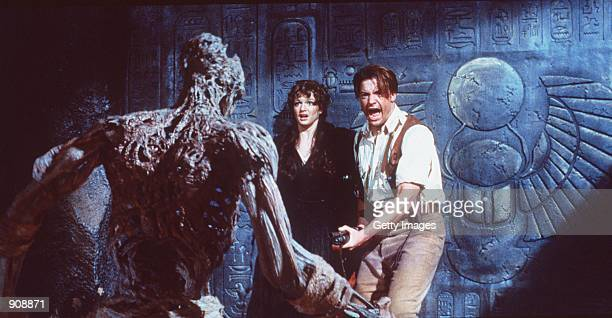 Rick O''Connell must save Evelyn and the rest of the world from the 3000 yearold curse in 'The Mummy' 1999 Universal Studios All Rights Reserved