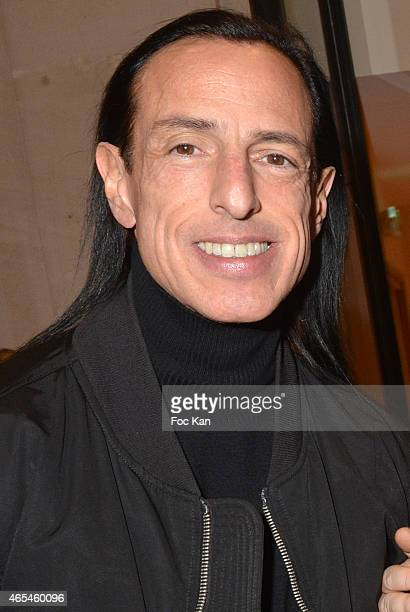 Rick Owens attends the Jeanne Lanvin Retrospective At Palais Galliera as part of the Paris Fashion Week Womenswear Fall/Winter 2015/2016 on March 6...