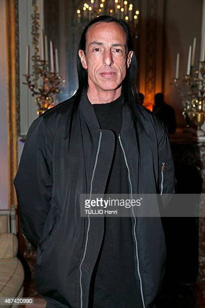 Rick Owens attends the New York Times Style Magazines Cocktail Party in Paris on March 07 2015