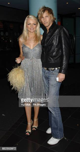 Rick Parfitt Jnr and Hannah Sandling arrive for the World Premiere of Tenacious D In the Pick of Destiny at the Vue West End in Leicester Square...