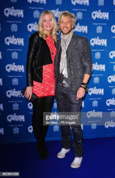 Rick Parfitt Jnr attending the opening night of the Cirque du Soleil production of Quidam at the Royal Albert Hall London