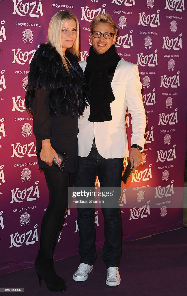 Rick Parfitt Jnr attends the opening night of Cirque Du Soleil's Kooza at Royal Albert Hall on January 8, 2013 in London, England.