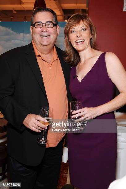 Rick Rodgers and Tanya Steel attend Epicurious 15th Anniversary Dinner at Eataly on September 29 2010 in New York