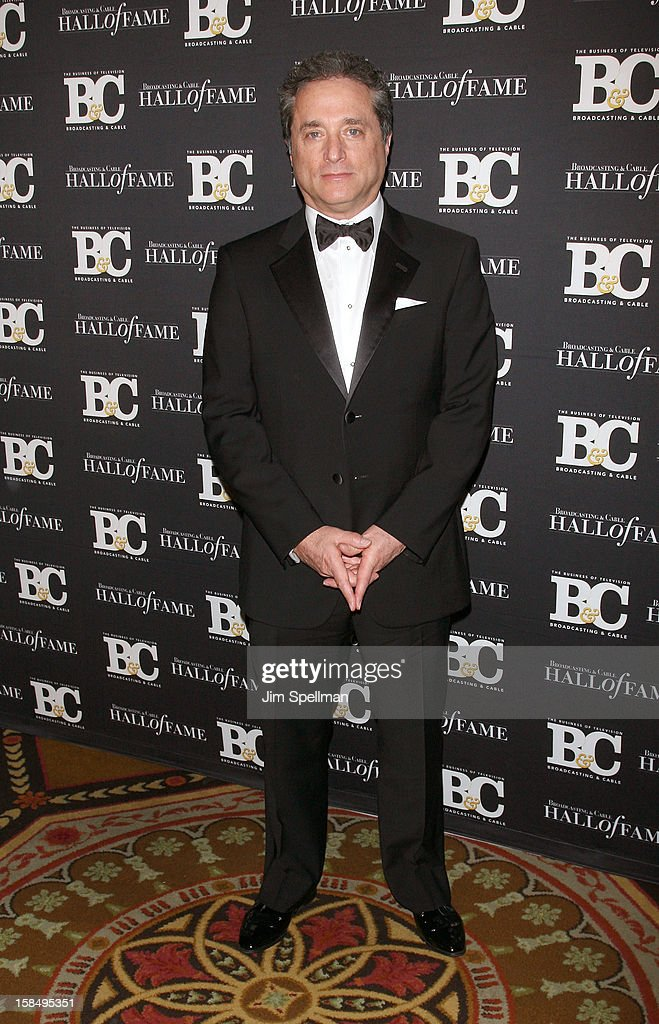 Rick Rosen attends at 2012 Broadcasting & Cable Hall Of Fame Awards The Waldorf Astoria on December 17, 2012 in New York City.