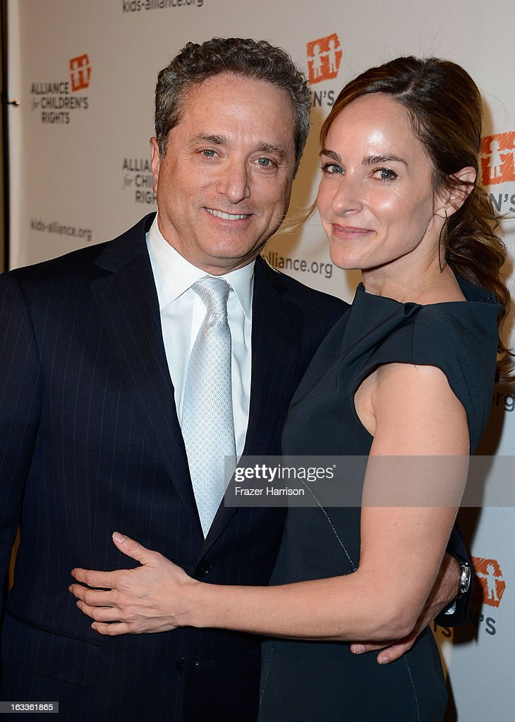 Rick Rosen, Jodi Harris arrive at The Alliance For Children's Rights' 21st Annual Dinner at The Beverly Hilton Hotel on March 7, 2013 in Beverly Hills, California.