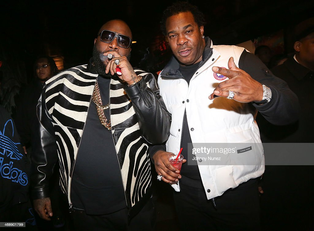 <a gi-track='captionPersonalityLinkClicked' href=/galleries/search?phrase=Rick+Ross+-+Rapper&family=editorial&specificpeople=11492924 ng-click='$event.stopPropagation()'>Rick Ross</a> and <a gi-track='captionPersonalityLinkClicked' href=/galleries/search?phrase=Busta+Rhymes&family=editorial&specificpeople=208120 ng-click='$event.stopPropagation()'>Busta Rhymes</a> attend the <a gi-track='captionPersonalityLinkClicked' href=/galleries/search?phrase=Rick+Ross+-+Rapper&family=editorial&specificpeople=11492924 ng-click='$event.stopPropagation()'>Rick Ross</a> 'Mastermind' Listening Event at New World Stages on February 11, 2014 in New York City.
