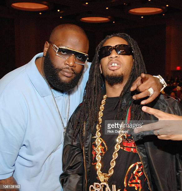 Rick Ross and Lil' Jon during Radio One Presents 2nd Annual Dirty Awards Backstage and Show at Georgia International Convention Center in Atlanta...