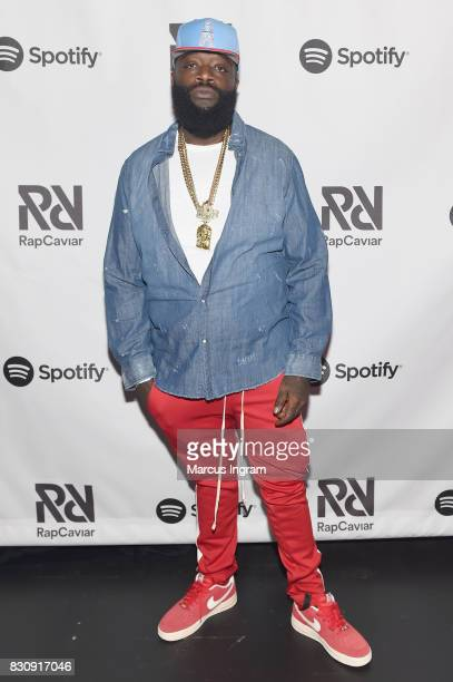 Rick Ross at Spotify's RapCaviar Live at The Tabernacle on August 12 2017 in Atlanta Georgia