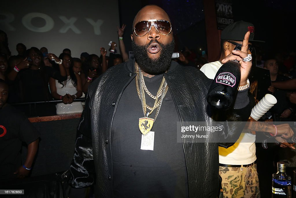 Rick Ross attends Corzo presents NBA All-Star Weekend at Club Roxy on February 15, 2013 in Houston, Texas.