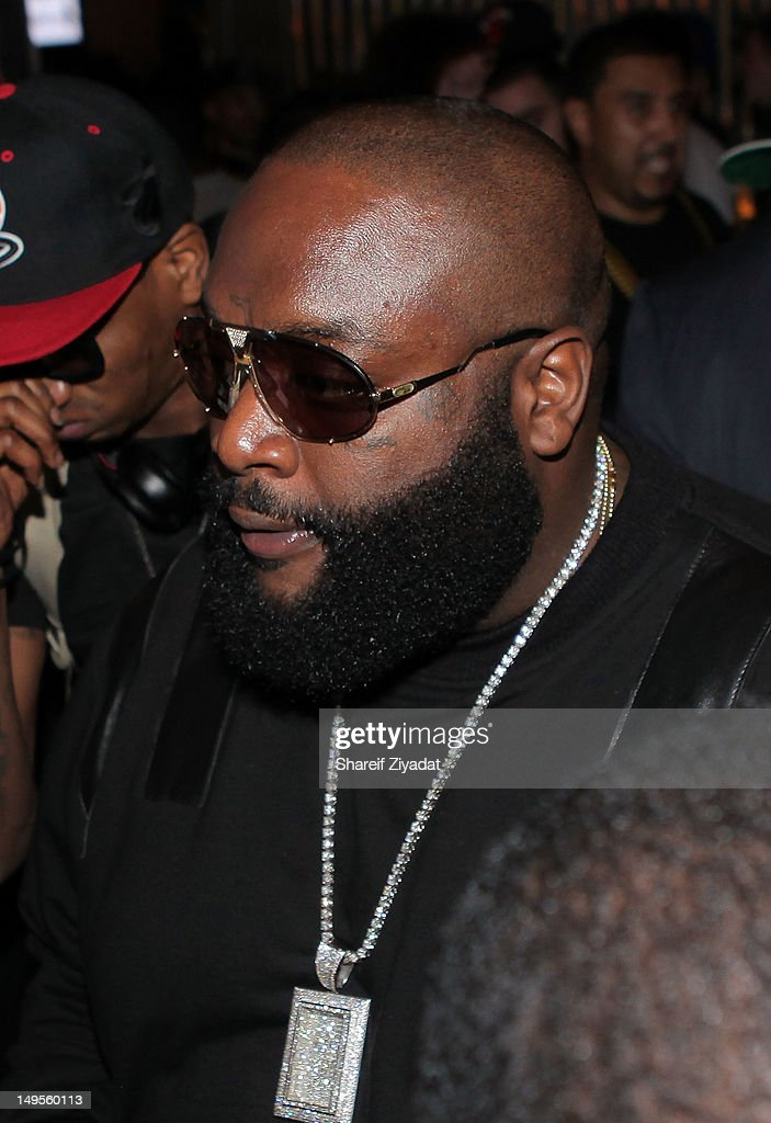 Rick Ross attends the 2 Chainz Album Release Party at 40 / 40 Club on July 30, 2012 in New York City.