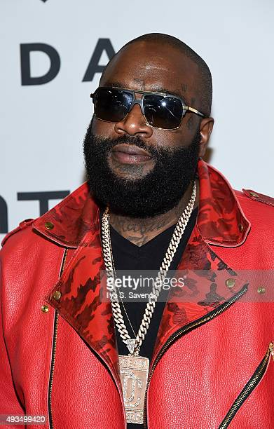 Rick Ross attends TIDAL X 1020 at Barclays Center on October 20 2015 in the Brooklyn borough of New York City