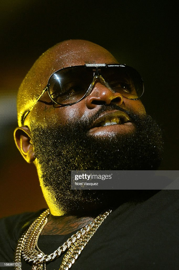 Rick Ross performs at Power 106FM's Cali Christmas at Gibson Amphitheatre on December 14, 2012 in Universal City, California.