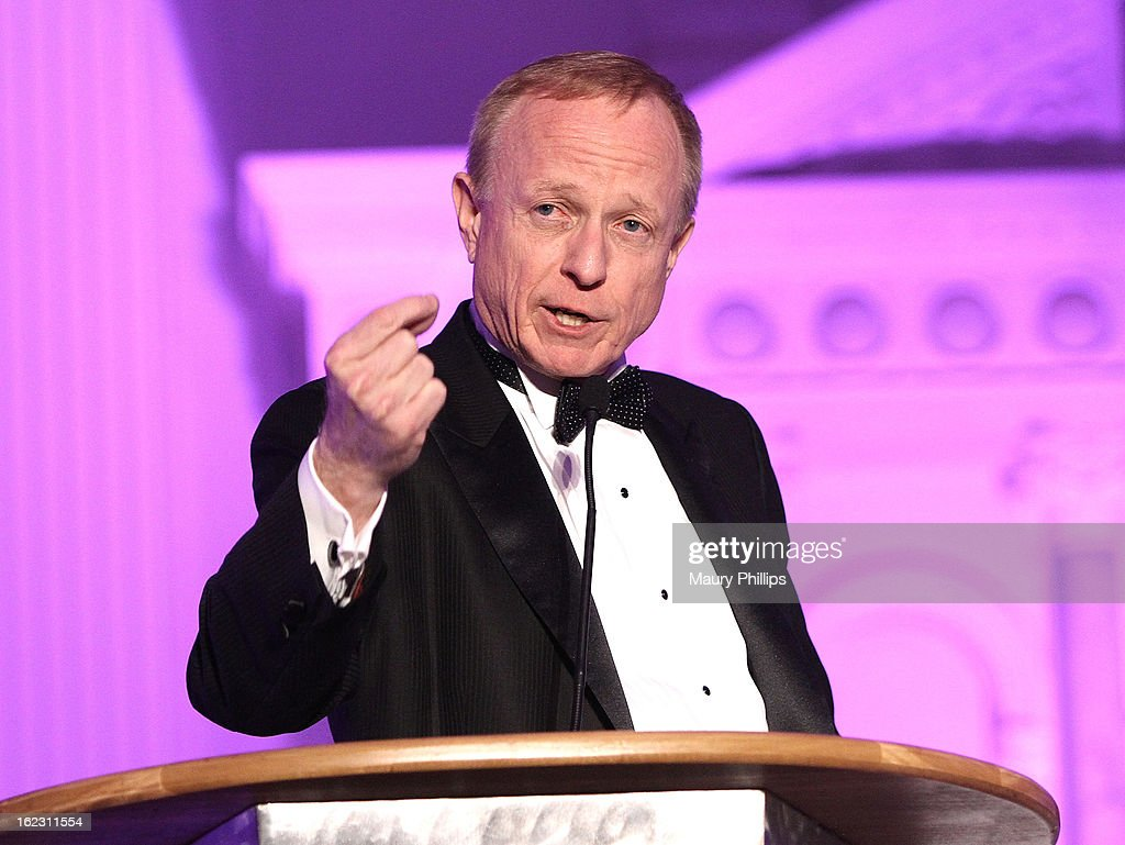 Rick Rozman speaks onstage during the Executive Preparatory Academy of Finance's 'Reason To Believe' Inaugural charity fundraising gala at Vibiana on February 20, 2013 in Los Angeles, California.