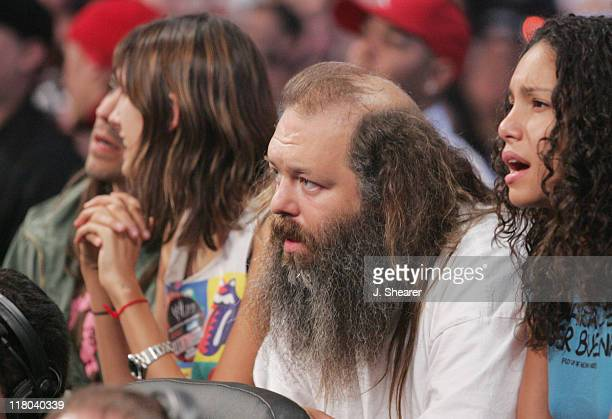 Rick Rubin during Celebrities at WWE WrestleMania 21 'WrestleMania Goes Hollywood' at Staples Center in Los Angeles California United States