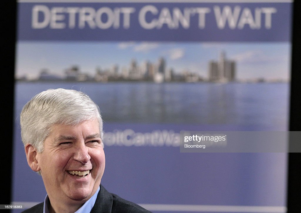 Michigan Governor to Issue Decision on Detroit Emergency Manager