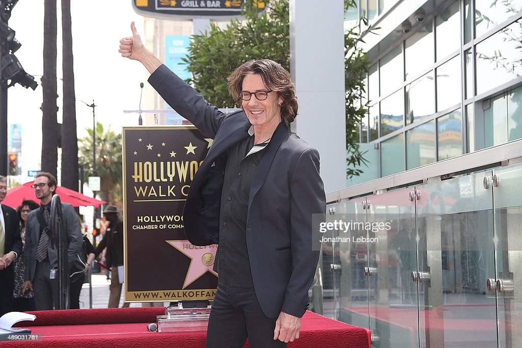 Rick Springfield attends the ceremony honoring him with a Star on The Hollywood Walk of Fame on May 9, 2014 in Hollywood, California.