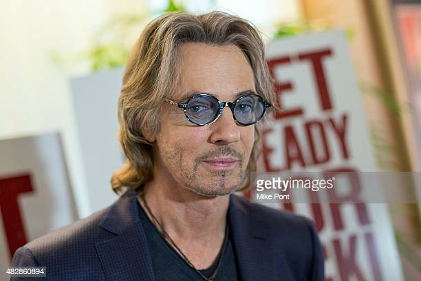 Rick Springfield attends the 'Ricki and the Flash' New York screening with Mamarazzi at the Sony Pictures Screening Room on August 3 2015 in New York...