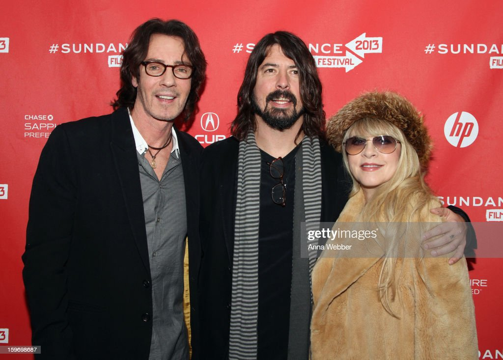 <a gi-track='captionPersonalityLinkClicked' href=/galleries/search?phrase=Rick+Springfield&family=editorial&specificpeople=242775 ng-click='$event.stopPropagation()'>Rick Springfield</a>, <a gi-track='captionPersonalityLinkClicked' href=/galleries/search?phrase=Dave+Grohl&family=editorial&specificpeople=202539 ng-click='$event.stopPropagation()'>Dave Grohl</a> and <a gi-track='captionPersonalityLinkClicked' href=/galleries/search?phrase=Stevie+Nicks&family=editorial&specificpeople=212751 ng-click='$event.stopPropagation()'>Stevie Nicks</a> attend the 'Sound City' premiere during the 2013 Sundance Film Festival at The Marc Theatre on January 18, 2013 in Park City, Utah.
