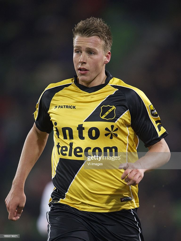Rick ten Voorde of NAC Breda during the Dutch Eredivisie match between FC Groningen and NAC Breda at the Euroborg on march 08, 2013 in Groningen, The Netherlands