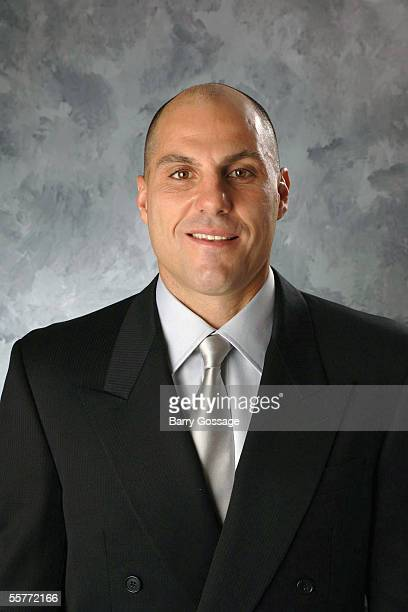 Rick Tocchet of the Phoenix Coyotes poses for a portrait at Glendale Arena on September 112005 in Phoenix Arizona