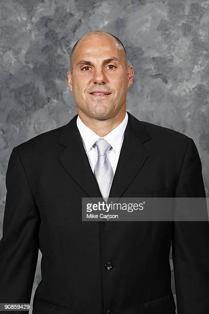Rick Tocchet of the Tampa Bay Lightning poses for his official headshot for the 20092010 NHL season