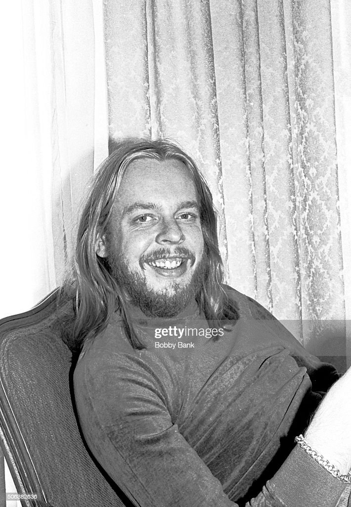 Rick Wakeman, member of the musicial group, 'Yes' interviewed at his hotel suite April 1, 1977 in New York City.
