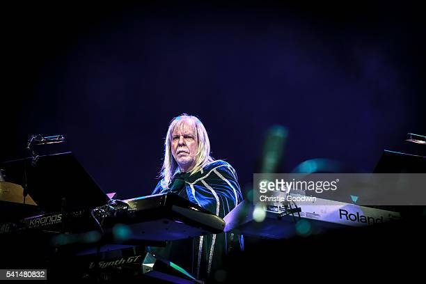 Rick Wakeman performs The Myths And Legends Of King Arthur And The Knights Of The Round Table in full for the first time since 1975 on day 2 of Stone...