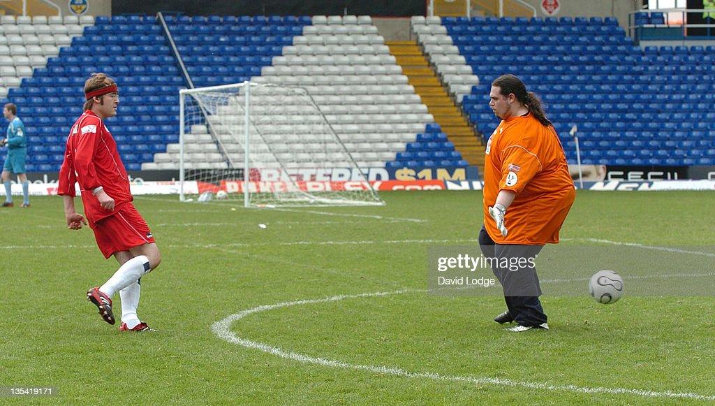 Rick Waller during Soccer Six at Birmingham City Football Club - May 14, 2006 at St Andrews Stadium in Birmingham, Great Britain.