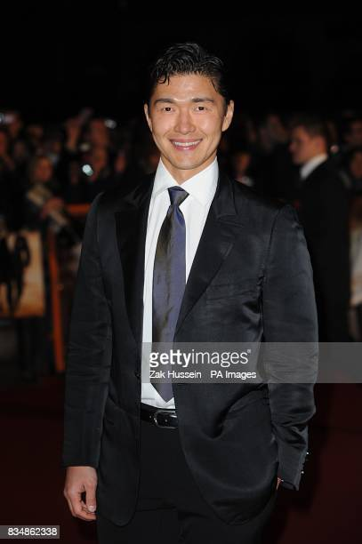 Rick Yune arrives for the World premiere of 'Quantum Of Solace' at the Odeon Leicester Square WC2