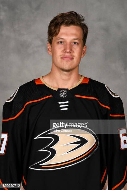 Rickard Rakell of the Anaheim Ducks poses for his official headshot for the 20172018 season on September 14 2017 at Honda Center in Anaheim California