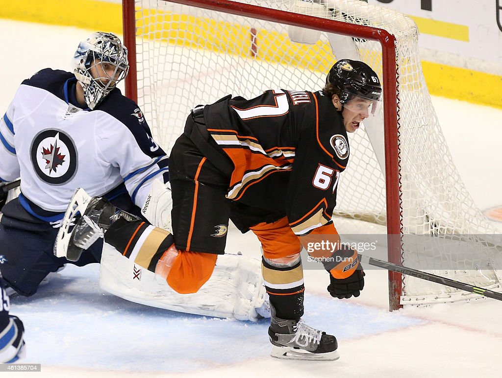 Winnipeg Jets v Anaheim Ducks