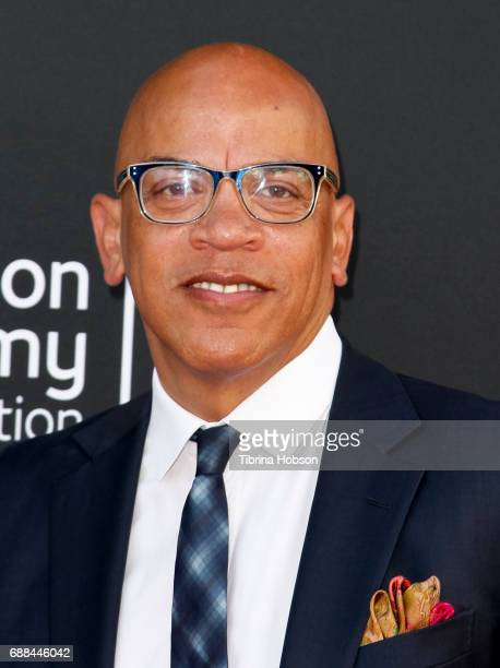 Rickey Minor attends the 38th College Television Awards at Wolf Theatre on May 24 2017 in North Hollywood California