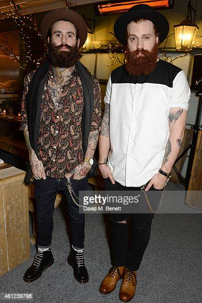 Ricki Hall and Tymoor Gharbo attend a dinner to celebrate LCM and the exclusive launch of Nick Wooster's fashion line Wooster Lardini at Selfridges...