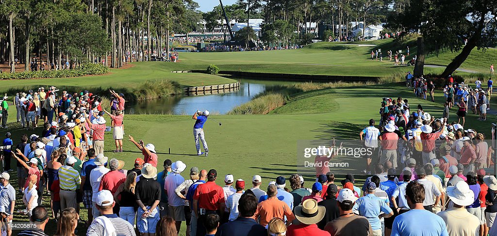 <a gi-track='captionPersonalityLinkClicked' href=/galleries/search?phrase=Rickie+Fowler&family=editorial&specificpeople=4466576 ng-click='$event.stopPropagation()'>Rickie Fowler</a> of the USA plays his tee shot at the par 5, 16th hole during the second round of THE PLAYERS Championship held at THE PLAYERS Stadium course at TPC Sawgrass on May 11, 2012 in Ponte Vedra Beach, Florida.