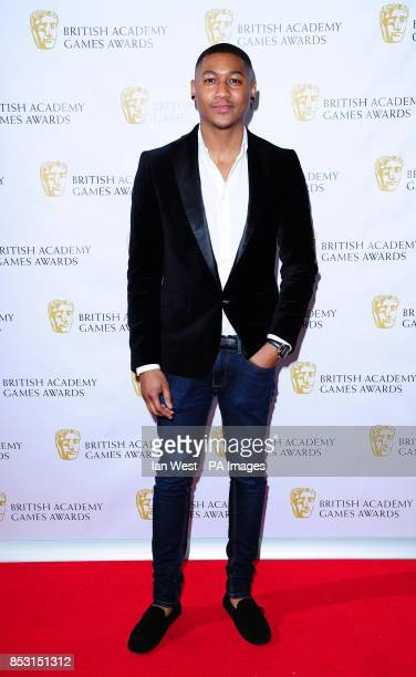 Rickie Haywood Williams attending the British Academy Games Awards at Tobacco Dock London