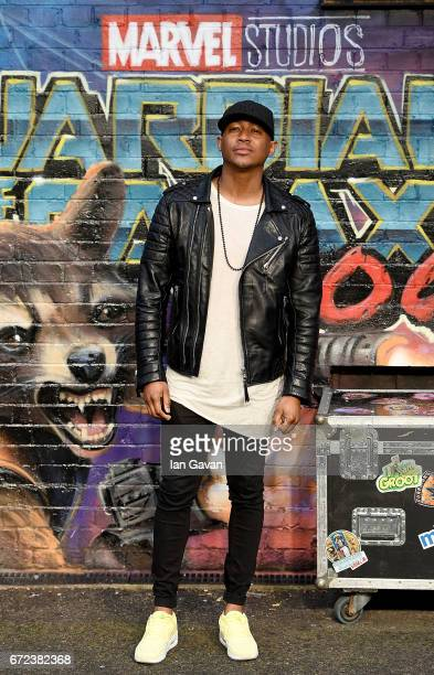 Rickie Haywood Williams attends the European launch event of Marvel Studios' 'Guardians of the Galaxy Vol 2' at the Eventim Apollo on April 24 2017...