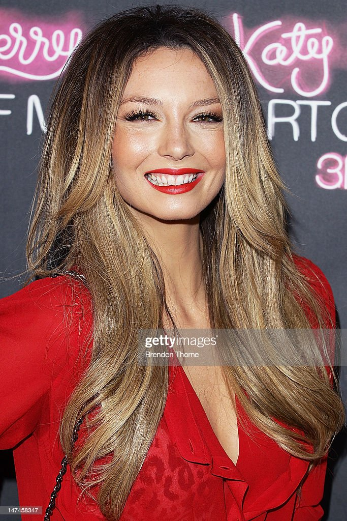 Ricki-Lee Coulter arrives at the 'Katy Perry: Part Of Me' Australian Premiere on June 30, 2012 in Sydney, Australia.