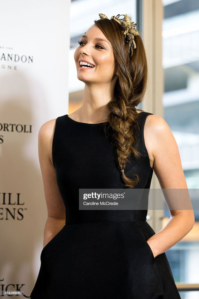 <a gi-track='captionPersonalityLinkClicked' href=/galleries/search?phrase=Ricki-Lee+Coulter&family=editorial&specificpeople=213884 ng-click='$event.stopPropagation()'>Ricki-Lee Coulter</a> poses at the launch of the 2014 Sydney Spring Carnival at Royal Randwick Racecourse on September 2, 2014 in Sydney, Australia.