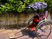 Rickshaw cart, Kamakura