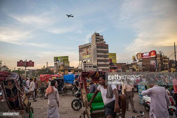 Rickshaw drivers wait for customers in Patna Bihar India on Monday July 27 2015 More than anywhere Bihar reflects the challenge Prime Minister...
