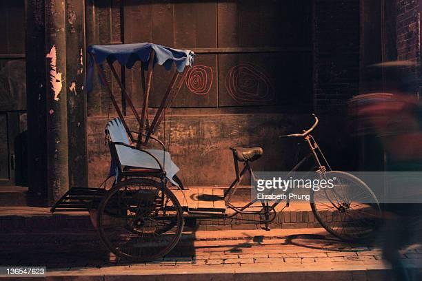 Rickshaw in Pingyao's ancient city