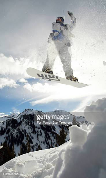 Ricky Bright gets some air on his snowboard in Alta Utah According to figures from the National Ski Areas Association snowboarding peaked in 2004...