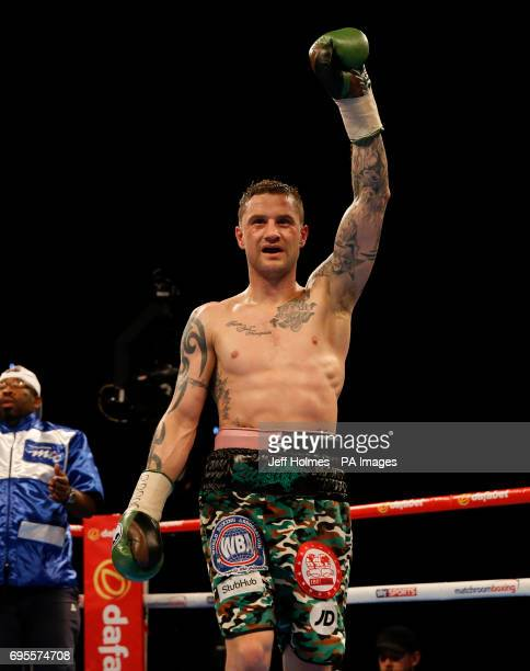 Ricky Burns v Julius Indongo at the SSE Hydro Glasgow