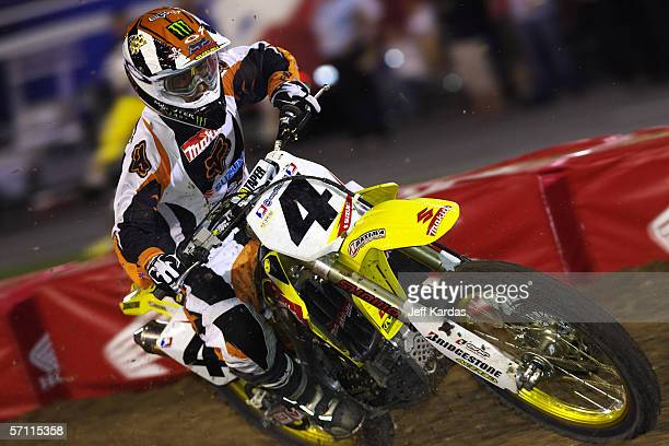 Ricky Carmichael during a round of the 2006 Amp'd Mobile/AMA Supercross Series