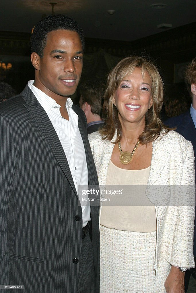 Ricky Fante, Denise Rich during UJA Federation of NY/Music for Youth Foundation fundraiser at Pierre Ballroom in New York, New York, United States.