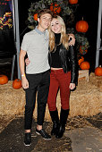 Ricky Garcia and Chloe Lukasiak attend the Rise of the Jack O' Lanterns 2nd annual VIP event at Descanso Gardens on October 4 2015 in La...